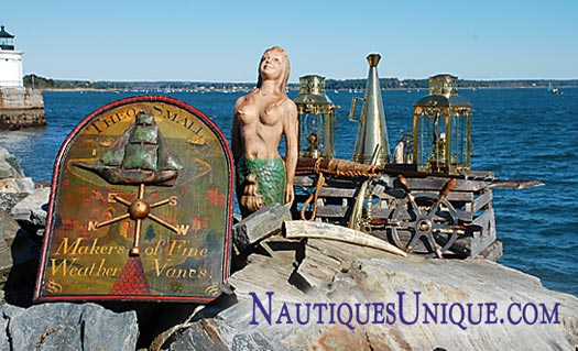 NautiquesUnique.com collection of Nautical Antiques